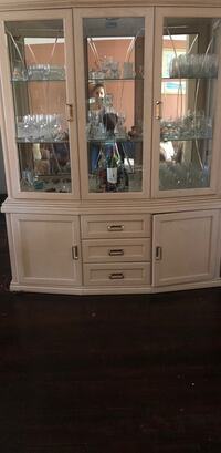 white wooden cabinet with mirror مونتريال, H4R 1W6