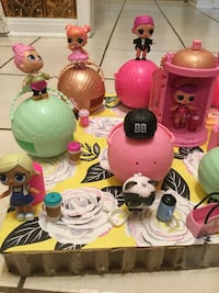 LOL fun dolls, pets, babies and accessories included