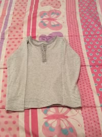 gray/white stripe glitter shirt Temple Hills, 20748