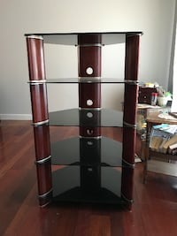Glass Entertainment Stand Frederick