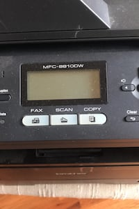 Brother MCF 4 in one photo copier fax scanner WiFi, original price $650.in very good condition . Vienna, 22182