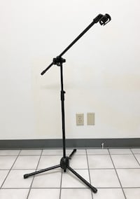 New $10 New Microphone Boom Stand Mic Clip Holder Studio Arm Adjustable Foldable Tripod  Whittier