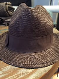 Brown fedora - like new/used a couple of times