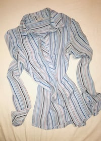 Made in Turkey--- Blue Blouse