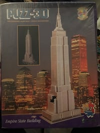 Puzz3D Empire State Building Puzzle