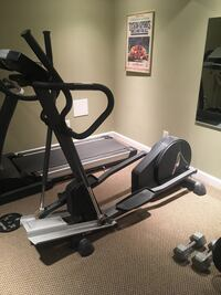black and gray elliptical trainer Mount Airy, 21771