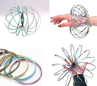Hand spinners magic flow ring brand new in box 30 left  Edmonton, T5A 1X5