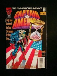 Captain America #443 comic book Fresno, 93702