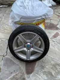 Michelin winter tire 250/50 R 17 used for one winter 800 or best offer Markham, L3T 7H1