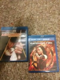 Two blue ray movies in great condition Chico, 95926