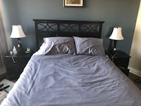 Bedroom set - bed, 2  nightstands , chest of drawers and mirror Mississauga, L4Y