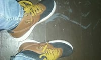 pair of  air forces running shoes Columbus, 43222