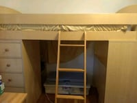 Loft bed with built in desk and storage Alexandria, 22306