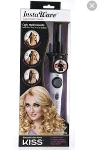 Insta Wave automatic curler $10.