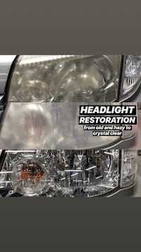 Car headlight restoration Brampton, L6S