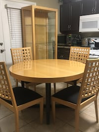 Dinning set with China Cabinet  North Las Vegas, 89031