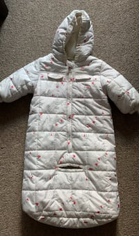 Infant snowsuit size 6-12 months
