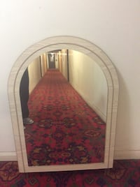 Framed mirror excellent condition,45 inch hight,30,5 you can fix at dresser Toronto, M2R 2A3