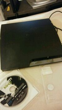 black Sony PS3 slim console Temple Hills