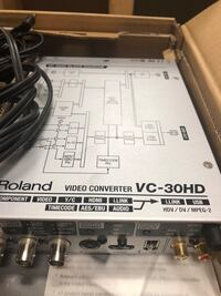 Roland vc-30hd video converter Toronto, M4B 2T8