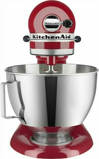 white and red KitchenAid stand mixer Portland, 97209