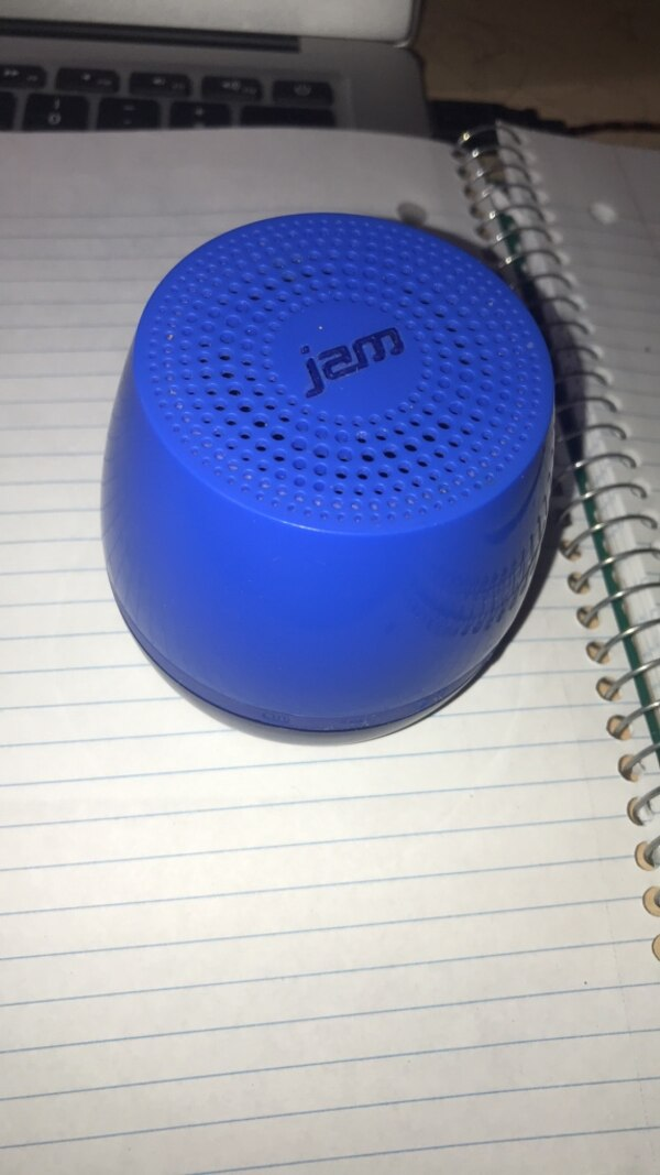 Bluetooth speaker with charger