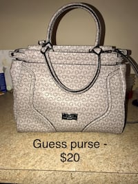 monogrammed gray Guess 2-way purse handbag Parkersburg, 26101