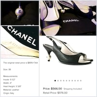 chanel pearl edition retail prices at $900 shoes
