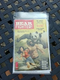 Shirtless Bear Fighter #4 variant cover comic Kitchener, N2H 2G4