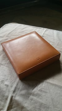 Dunhill Terracotta HS1020 Leather Bound Travel Humidor (10 capacity) Los Angeles