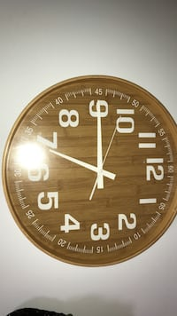 Bamboo clock decor Whitby, L1R 1Y8