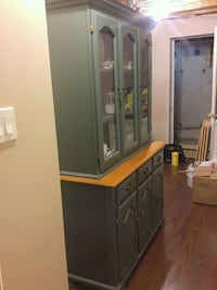 Green Wooden cabinet Whitchurch-Stouffville