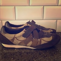 Authentic Coach brown sneakers (size 9)
