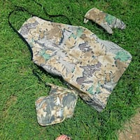Camouflage Grill apron + oven mitts Franklin, 37067