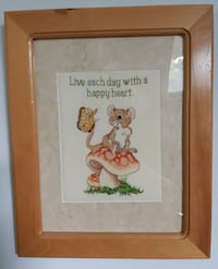 """Live Each Day"" 1997Cross Stitch"