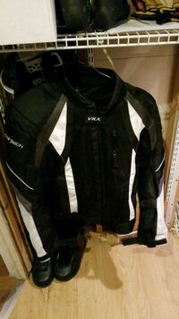 Vrx motorcycle jacket small
