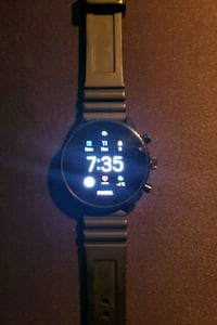 Fossil Watch Gen. 4 with Black silicone strap