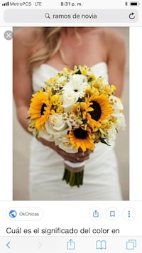 yellow and white flower bouquet Cypress, 90630
