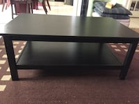 Black wooden coffee table Mississauga, L5V