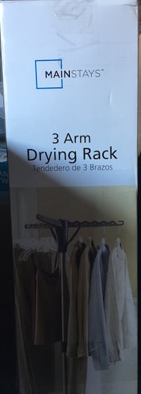3arm drying rack with box