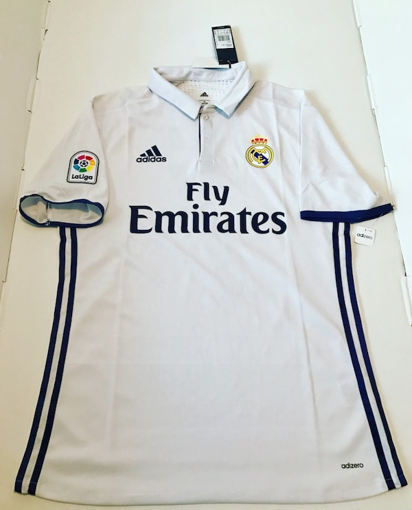official photos 9e2e4 6c3cc Real Madrid Ronaldo Adidas Jersey