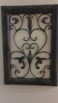 black metal framed wall decor North Charleston, 29418