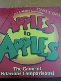 Apples To Apples Party Box -- New Sealed Game -- Family Fun -- Hilarious Fun Ages 12 to Adult  4 to 10 Players Schaumburg, 60193