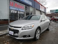 2015 CHEVROLET MALIBU LTZ *FR $499 DOWN GUARANTEED FINANCE Des Moines