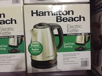 Hamilton Beach Electric Kettle box