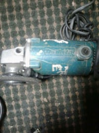 blue and gray Makita corded angle grinder Edmonton, T6C 0L6