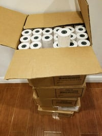 432 Commercial White Thermal Printing Paper Rolls  Lowell, 01851