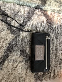 black coach wallet.