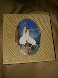 Cardboard jewelry box with birds vintage Guelph, N1L 1G9