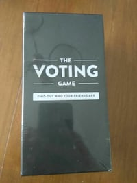 The Voting Game Card Game Durham, N0G